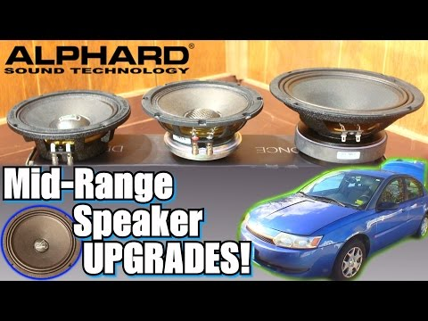"EXO's New SPEAKERS w/ Alphard Audio 8"" DEAF Bonce DB-M80 & 6.5"" NEO Hannibal NM6 Car Speaker INSTALL"