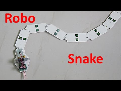 How To Make A Snake Robot At Home - DIY Robot