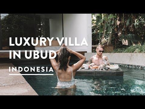 POOL VILLA LUXURY @ ORIGIN UBUD | MARKETS SHOPPING | Bali Accommodation Vlog 132, 2018