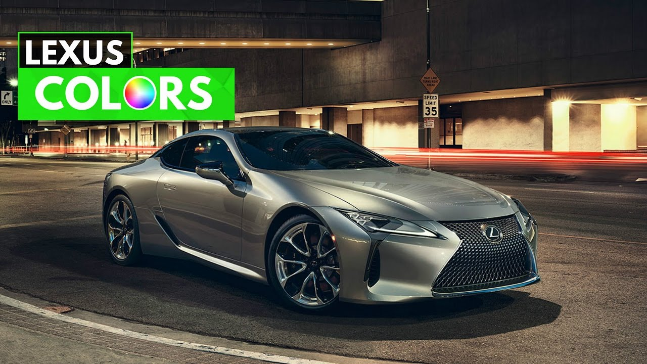 2017 Lexus Lc Colors Limited Edition Luxury Sport Sport