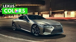 2017 Lexus LC Colors - Limited Edition| Luxury | Sport | Sport+