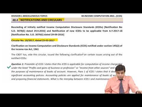 Income Computation And Disclosure Standards By CA Mehul Thakker
