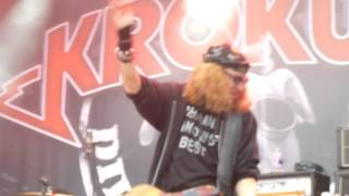 *Krokus - Rock City / Better Than Sex / Dög Song* (13.08.2014, Rock Oz'Arènes, CH-Avenches)