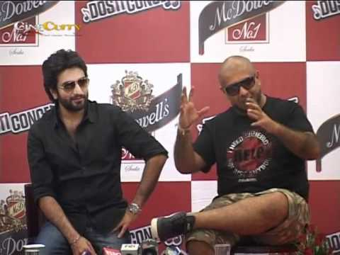 Vishal - Shekar At Dosti Concret Press Conference