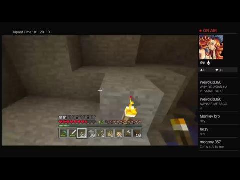 Minecraft 3:00 having fun