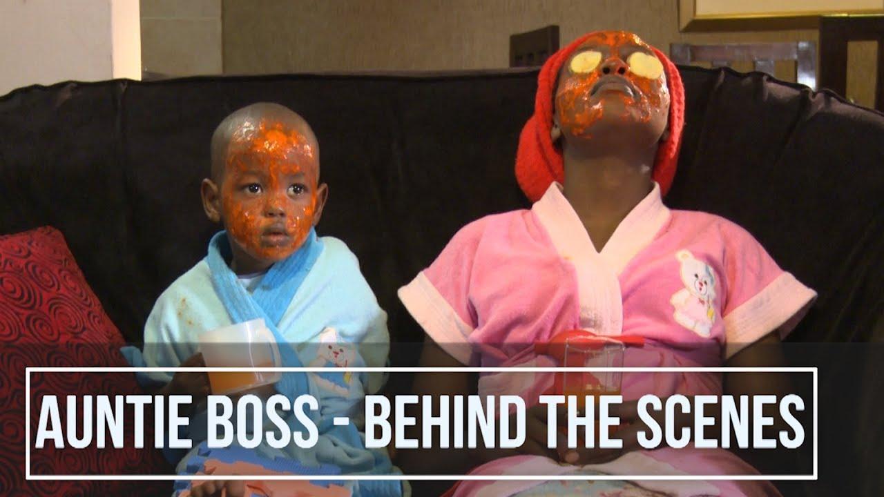 Download 🎬 Auntie Boss - Behind The Scenes Shooting 🎞