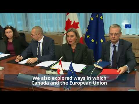 EU-Canada Joint Ministerial Committee Meeting Highlights
