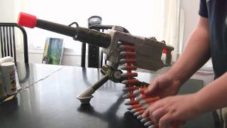 50 caliber browning Toy Gun by Buzz Bee Toys