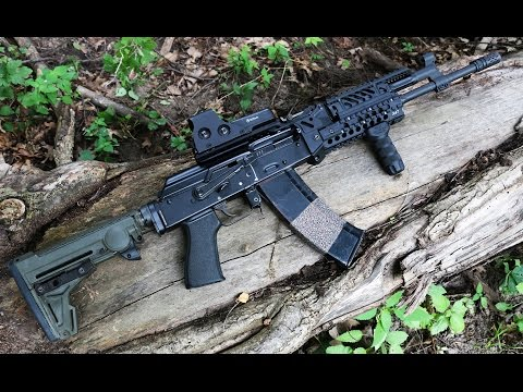 AK 47 / AK 74 Rail System - X47 from TDi Arms