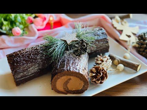 bûche-de-noël-au-chocolat-très-facile