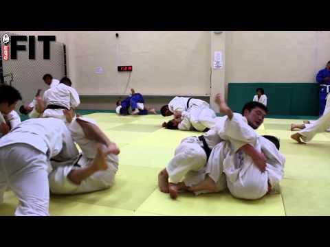 Japan Judo Training with Guam Judo Academy at iFIT Guam