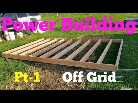 New Tesla Off Grid Solar Power Building Its Happening Pt-1