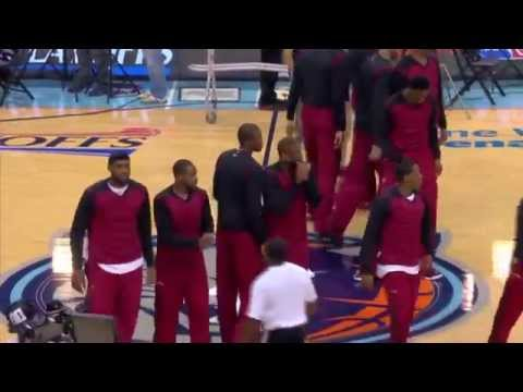 Miami Heat protest Donald Sterling | NBA PLAYOFFS