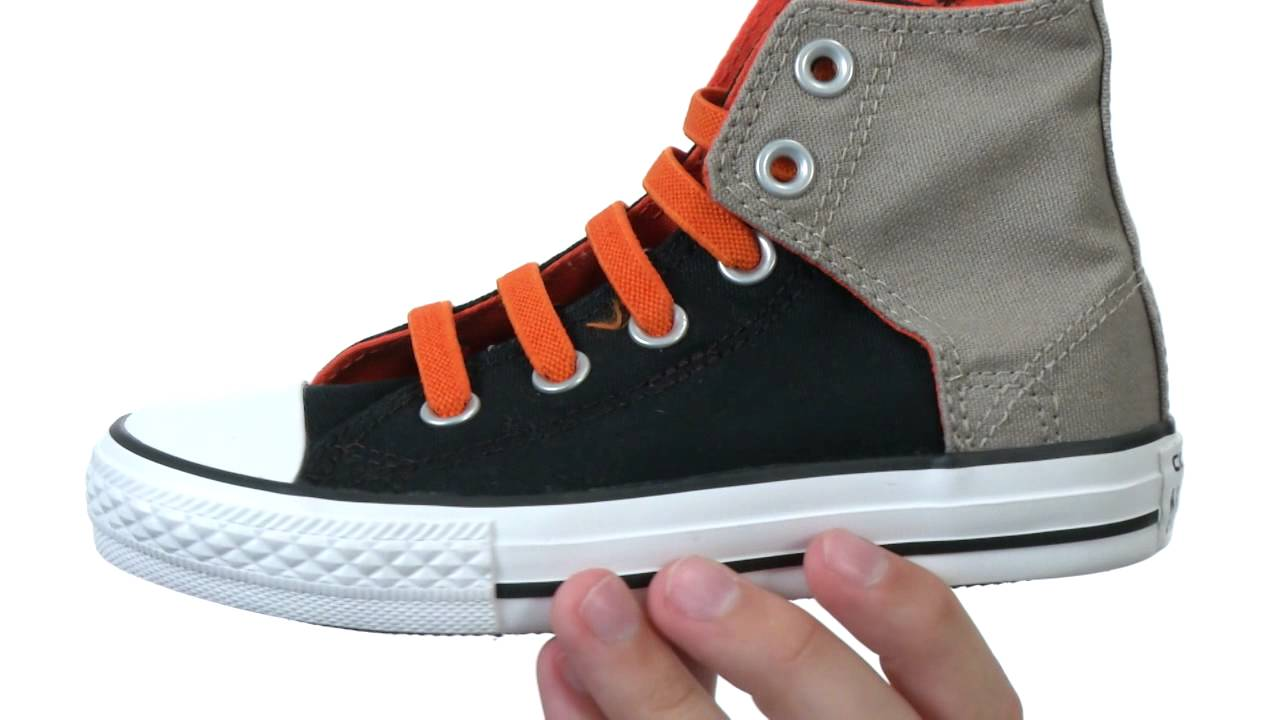 6d1647881e92 Converse Kids - Chuck Taylor® All Star® Easy Slip Hi (Little Kid Big Kid)  SKU  8275449