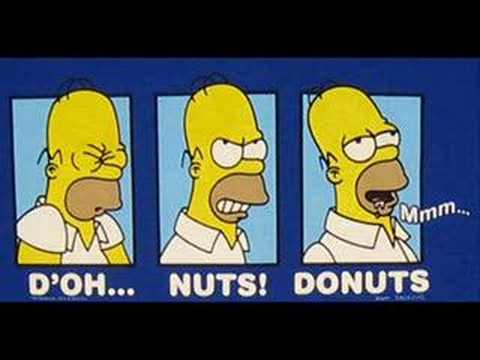 Homer Simpson - D'oh! Song (Remix)