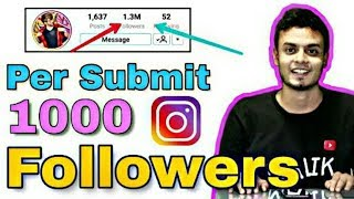 How to increase Followers on instagram | 1 click increase 250 INSTAGRAM followers