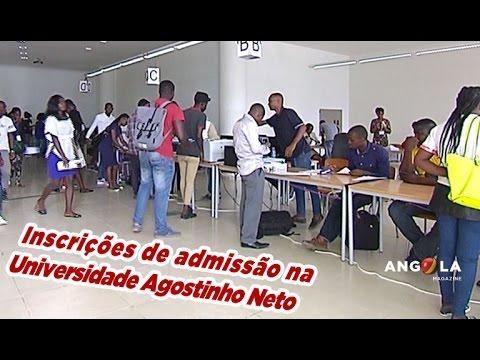 Angola Magazine - Inscrições na Universidade Agostinho Neto