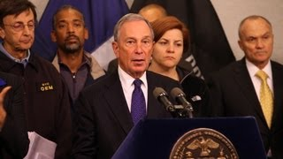 Mayor Bloomberg Updates New Yorkers on City