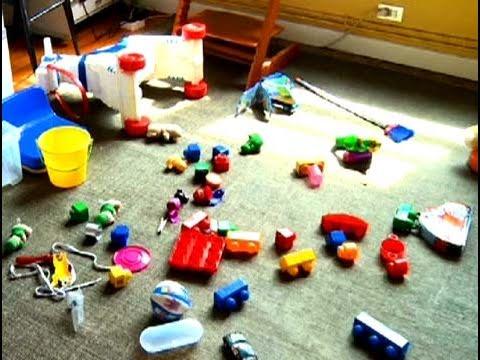 C mo organizar los juguetes correctamente youtube for Casa de juguetes para jardin
