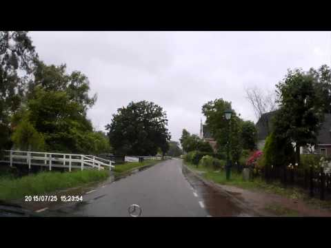 dashcam video: Stormritje 25072015