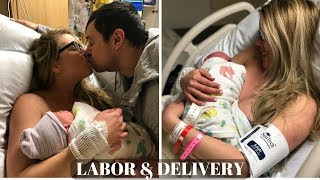 EMOTIONAL BIRTH VLOG   Labor and Delivery
