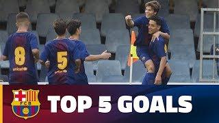 FCB Masia – Academy: Top 5 goals 21-22 October