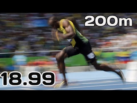 200m World Record Evolution Leading To 18.99 Seconds