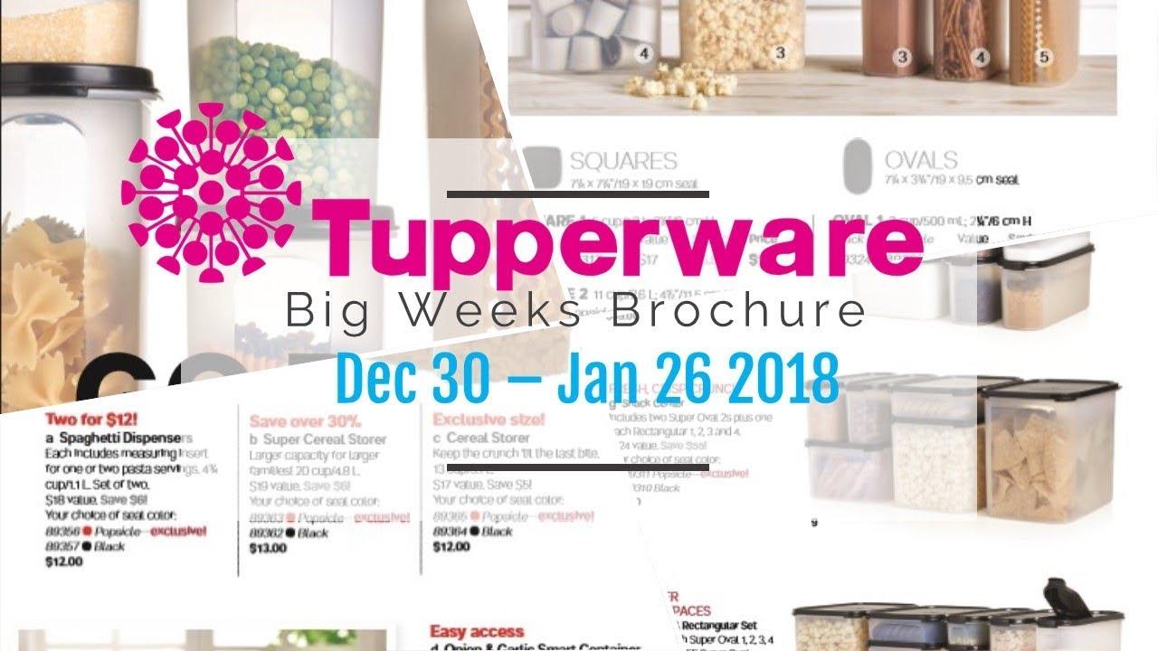 Catalogue 2018 tupperware Tupperware 2018