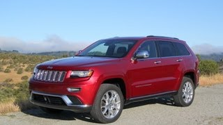 2014 Jeep Grand Cherokee Summit 4x4 On and Off Road Test and Review