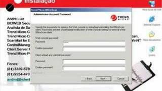 Instalação OfficeScan 8.0