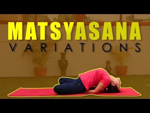 Matsyasana | Yoga Posture | Fish Pose