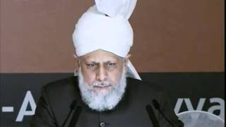 Huzur (atba) address to Majlis Atfalul Ahmadiyya Ijtema Germany 2011