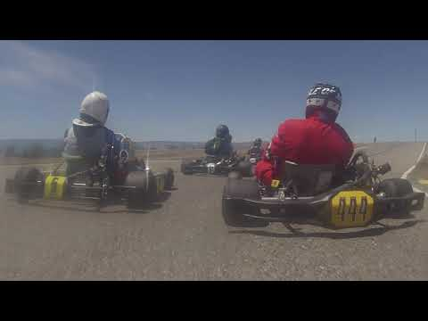 Colorado Karting Tour 2019 Round 3 - Grand Junction Motor Speedway LO206 Heavy Main