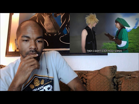 KrimReacts #82: EPIC REMATCH!!! (Link Vs. Cloud Rap Battle & Reaction)