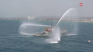 На рейде Тартуса:  корабли ВМФ России провели морской парад в Сирии