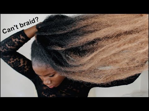 Can't braid?...No problem! THIS VIDEO IS FOR YOU