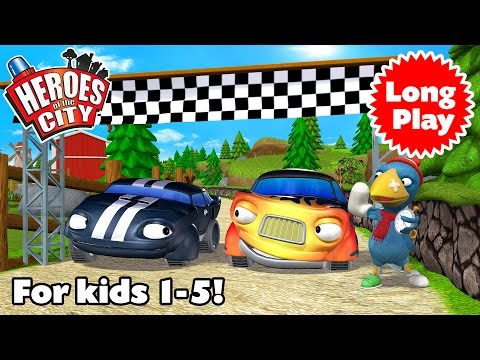 Heroes of the City 2 - Preschool Animation - Non-Stop! Long Play - Bundle 07