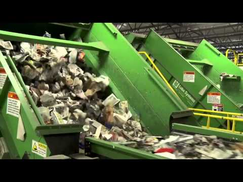 Take a tour of this Recycling plant in Philadelphia