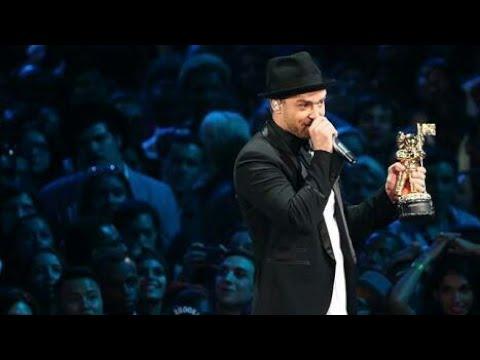 Justin Timberlake Acceptance Speech VMA 2013 HD