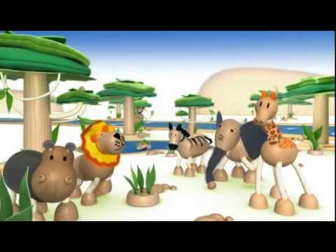 Anamalz Buffel, houten speelgoed dieren handgemaakt