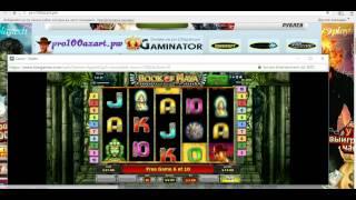 Бонус в игровом автомате  Book of Maya