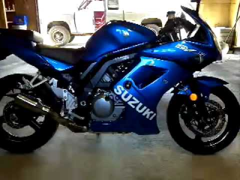 Sv 650 With A Straight Pipe Cheap Upgrade Youtube