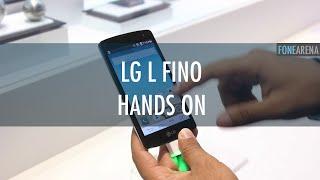 LG L Fino Hands On