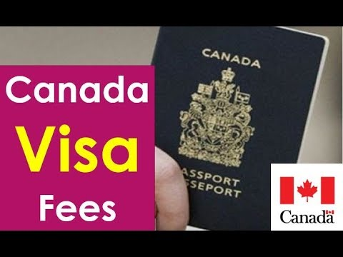 Canada Visa Fees For Work Permit Visitor Visa From India