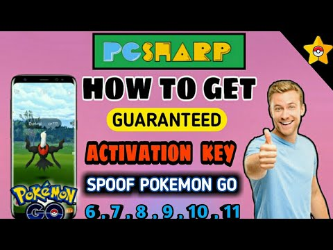 How To Get Activation Key In Pg Sharp Get Guaranteed Activation Key Spoof Pokemon Go In 2020 Youtube