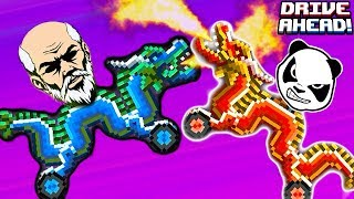 Невозможный КИТАЙСКИЙ НОВЫЙ ГОД в Драйв Ахед  и про машинки тачки гонки сражение на машинках