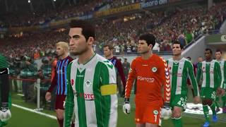 PES 2018 - KONYASPOR TRABZONSPOR MAÇI TÜRKÇE SPİKERLİ - Pro Evolution Soccer 2018 PC