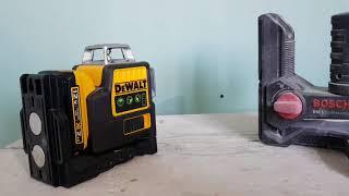обзор лазерных нивелиров DeWalt HILTI & BOSCH