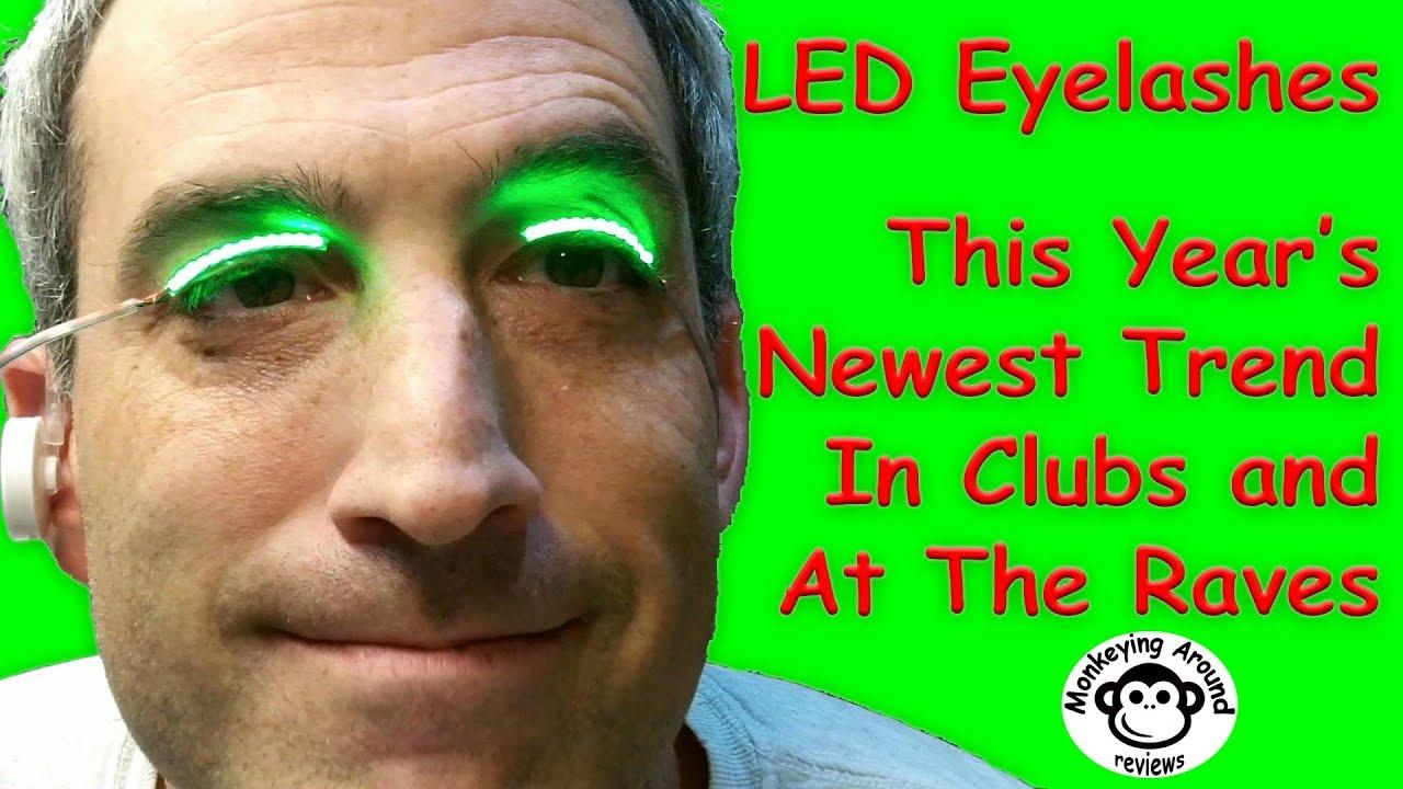 706872d794d BMK Waterproof LED Eyelashes review - YouTube