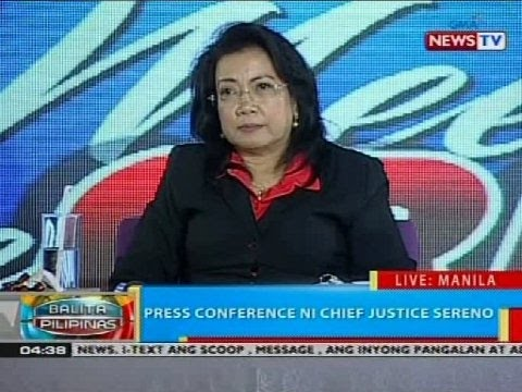 The Chief Justice meets the press (Part 2)
